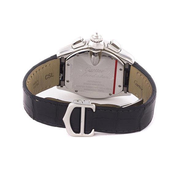 b2a39650 Купить часы Cartier Roadster Chronograph б/у в ЭлитЛомбарде ...