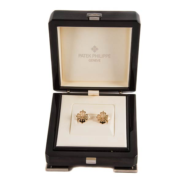 Ювелирные украшения Patek Philippe Cuff Links Calatrava фото