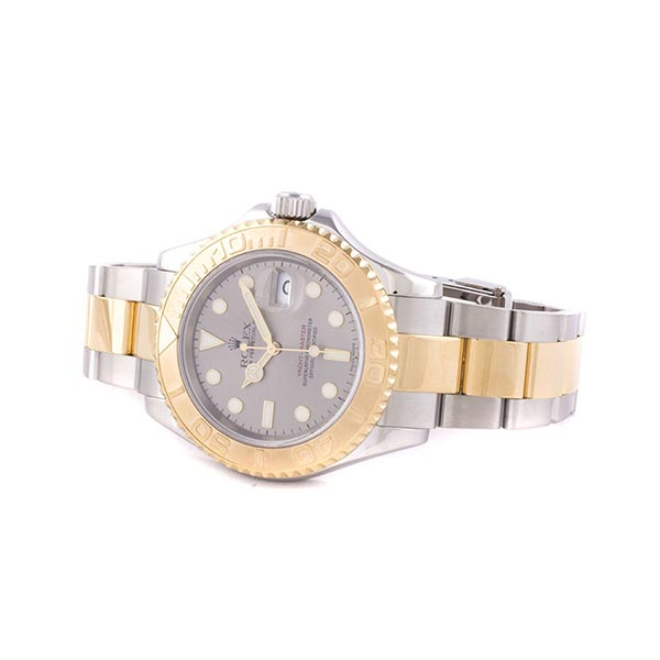 Часы Rolex Yacht-Master Stainless steel and Yellow Gold 40 mm фото