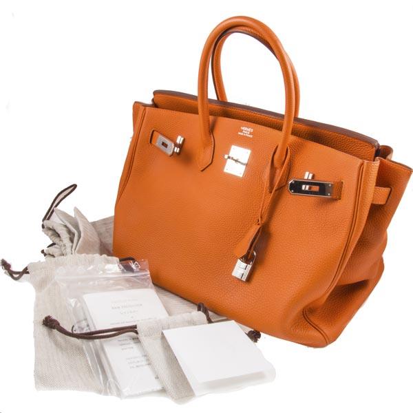 9662f325cd9f Купить сумку Hermes Birkin 35 б/у в ЭлитЛомбарде. Выгодные цены!
