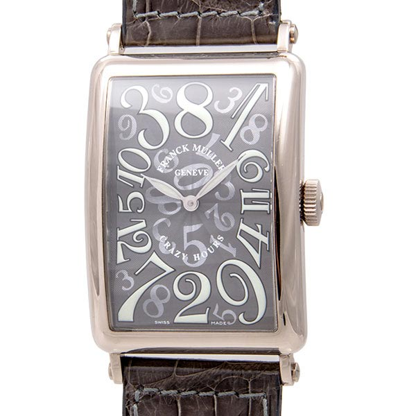 60905970 Купить часы Franck Muller Long Island Crazy Hours б/у в ЭлитЛомбард!