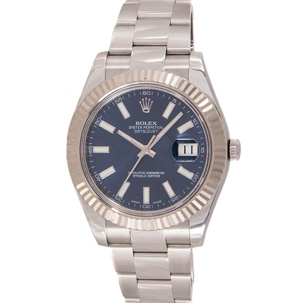 Часы Rolex Datejust II Blue Dial фото