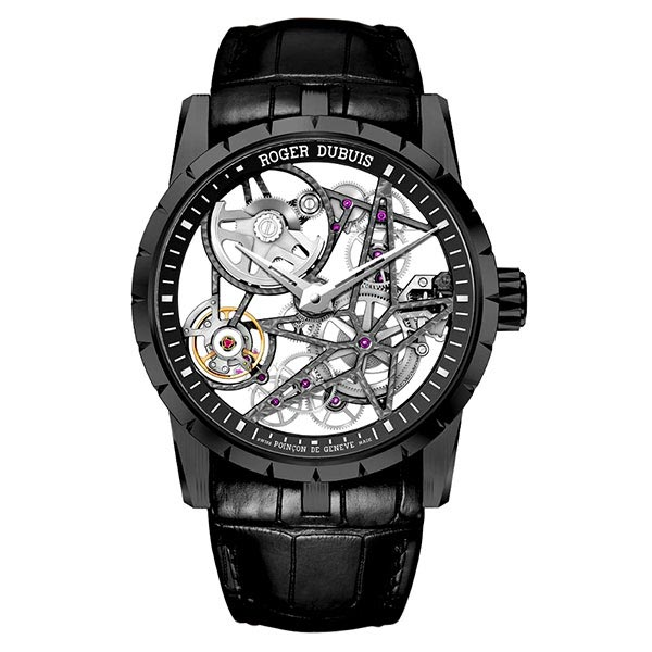 Часы Roger Dubuis Excalibur Automatic Skeleton 42 mm фото