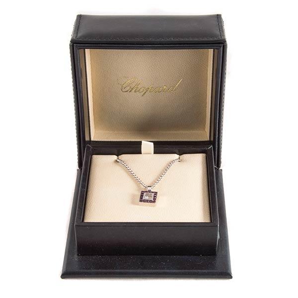 fdf7a78f Купить подвеску Chopard Happy Diamond Ruby б/у в ЭлитЛомбарде ...