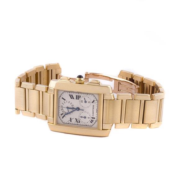 da2d813a ... Часы Cartier Tank Francaise Chronograph Bracelet фото ...