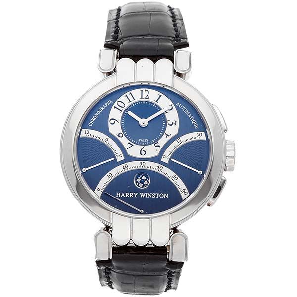 Часы Harry Winston Premier Excenter Biretrograde фото