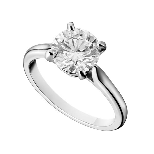 Ювелирные украшения Cartier Solitaire 1895 0,32 ct G/VVS2 фото