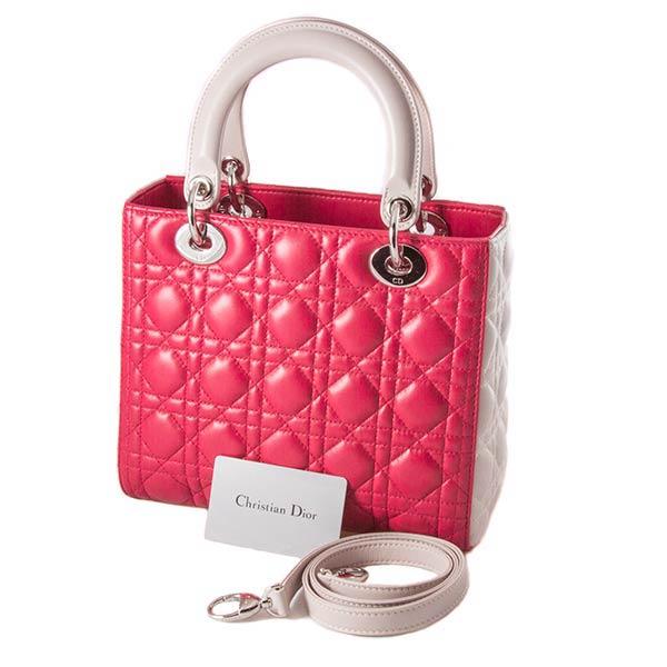86f0ed105e11 Купить новую сумку Dior Lady Dior Pink в ЭлитЛомбарде. Выгодные цены!