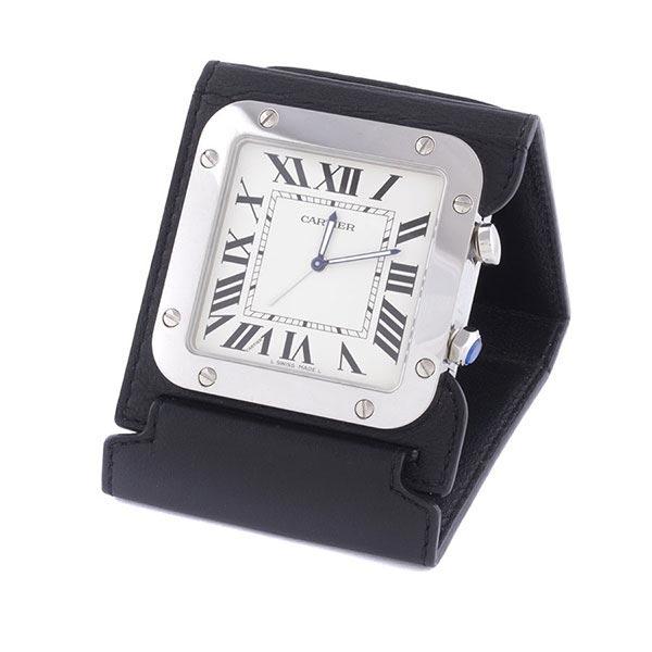 Настольные часы cartier santos