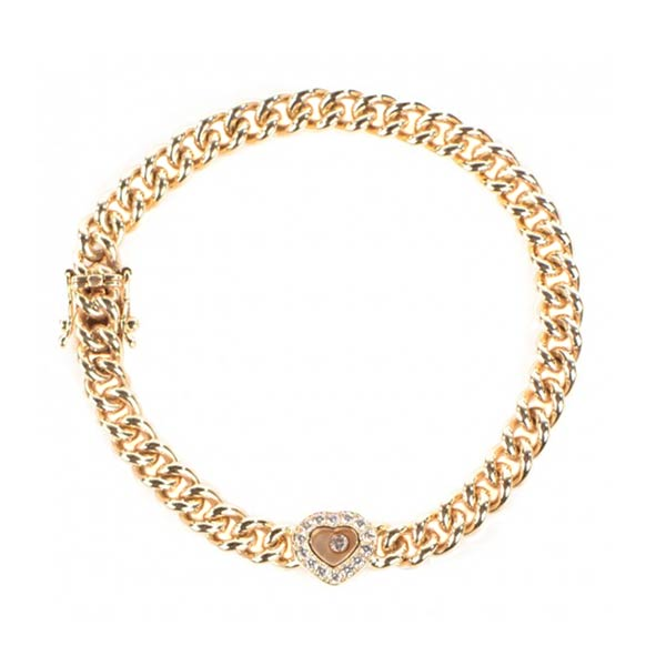 Ювелирные украшения Chopard Happy Diamonds Icons Heart Bracelet фото