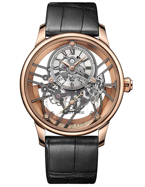 Фото Jaquet Droz Grande Seconde Skelet-One Red Gold