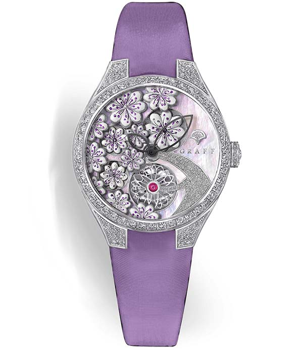 Фото Graff Floral White Mother of Pearl Dial Ref. MGFA37WGSLDMPW