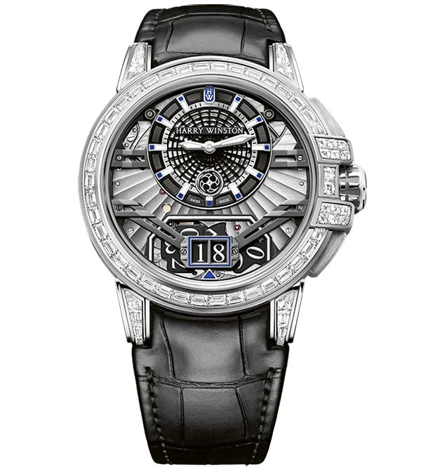 Фото Harry Winston Ocean Big Date Ref. OCEABD42WW002