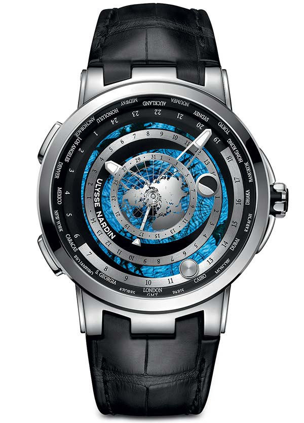Фото Ulysse Nardin Executive Moonstruck Worldtimer Ref. 1069-113/01
