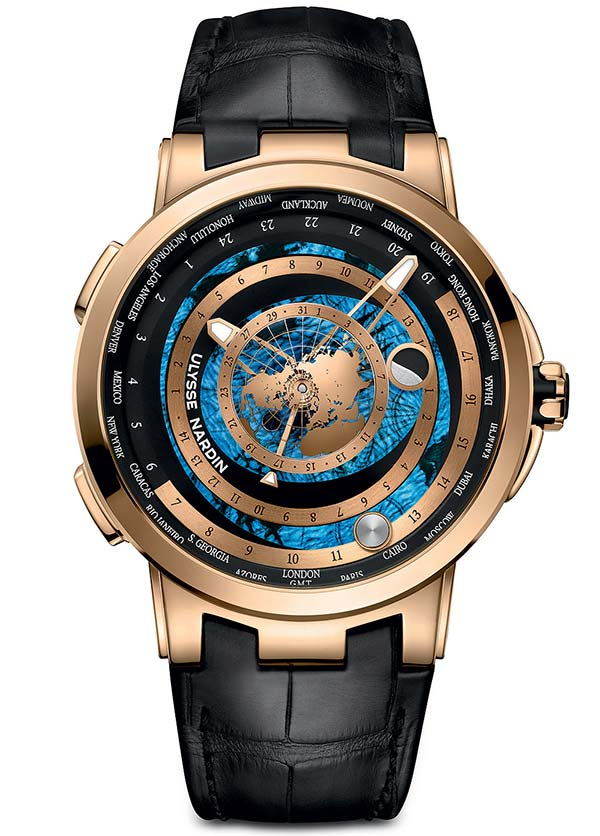Фото Ulysse Nardin Executive Moonstruck Worldtimer Ref. 1062-113/01