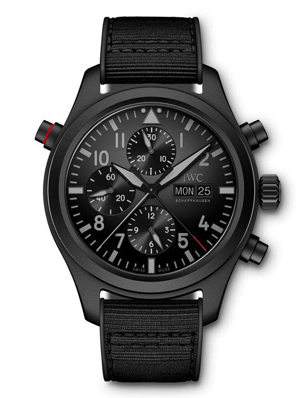 Фото IWC Pilots Watch Double Chronograph Top Gun Ceratanium Ref. IW371815