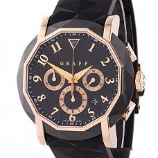 Часы Graff Steel Rose Gold ChronoGraff 45 mm фото