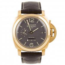 Часы Panerai Luminor 1950 8 Days GMT Oro Rosso фото