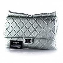 Аксессуары Chanel Green Classic Quilted Reissue Clutch Flap Purse Bag RHW фото