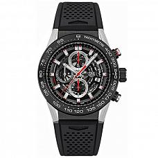 Часы Tag Heuer Carrera Calibre Heuer 01 Chronograph 45 mm фото