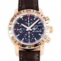 Часы Chopard Mille Miglia Alfa Romeo Limited Edition Rose Gold GMT Chronograph фото