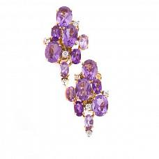 Ювелирные украшения Damiani Vintage Amethyst Earrings фото