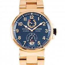 Часы Ulysse Nardin Marine Chronometer Manufacture 43 mm Rose Gold фото