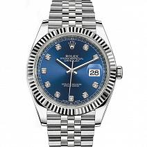 Часы Rolex Datejust 41 Blue Diamond Dial Gold & Steel фото