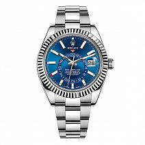 Часы Rolex Sky-Dweller 42 mm Steel and White Gold фото