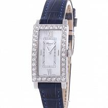Часы Chopard Classic Ladies 18K White Gold Diamond Mother of Pearl фото