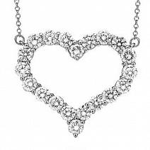 Ювелирные украшения Tiffany & Co Diamond Heart Pendant фото