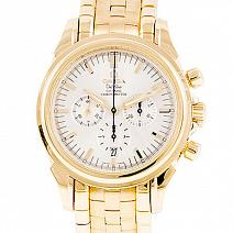 Часы Omega De Ville Co-Axial Mens Chronograph 18K Yellow Gold фото