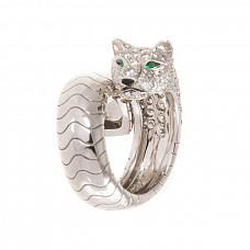 Ювелирные украшения Cartier Panther Diamond Ring фото