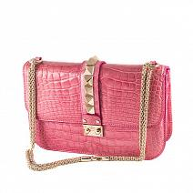 Аксессуары Valentino Glam Lock Medium Pink фото