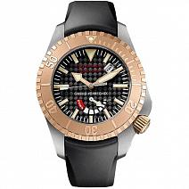 Часы Girard-Perregaux Sea Hawk II Pro Titanium/Rose Gold фото
