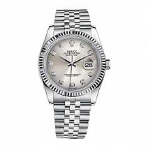 Часы Rolex Datejust 36mm Steel and White Gold фото