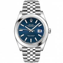 Часы Rolex Datejust II 41 mm Blue Dial фото