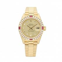 Часы Rolex Datejust 26 mm Diamond&Ruby фото