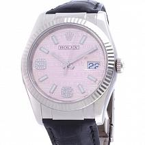 Часы Rolex Datejust Pink Waves With Diamonds 116139 фото
