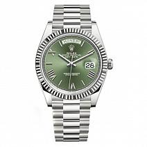Часы Rolex Day-Date 40mm White Gold фото