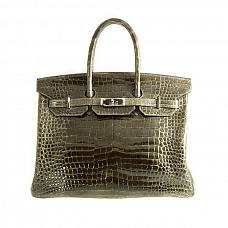 Аксессуары Hermes Birkin 35 Crocodile Bag фото