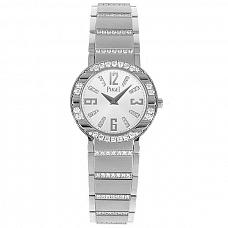 Часы Piaget Polo White Gold Diamond Ladies Watch 28 mm фото