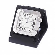 Часы Cartier Santos Travel Clock фото