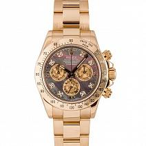 Часы Rolex Cosmograph Daytona Yellow Gold Crystals Diamonds фото