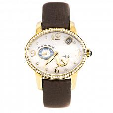 Часы Girard-Perregaux Cat's Eye Power Reserve 18K Rose Gold & Diamonds Ladies Watch фото